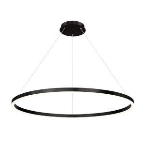 Spunto Matte Black One-Light 47-Inch LED Chandelier