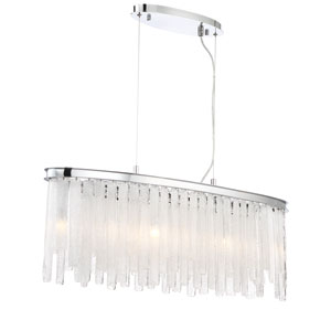 Candice Chrome Nine-Light Chandelier
