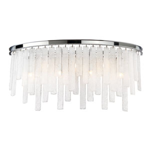 Candice Chrome Seven-Light Bath Bar