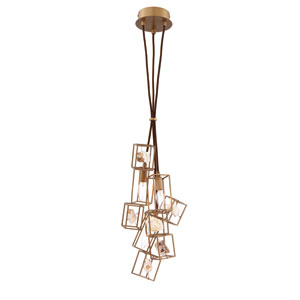 Patton Gold Three-Light Pendant