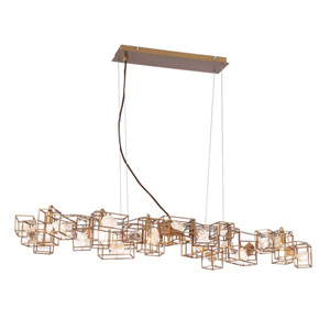 Patton Gold Six-Light Pendant