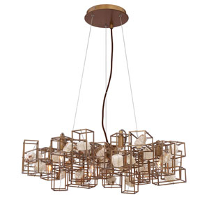 Patton Gold Seven-Light Chandelier