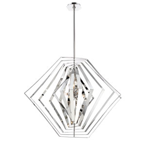 Downtown Chrome 10-Light Chandelier