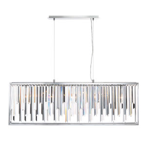 Genova Chrome Five-Light Chandelier
