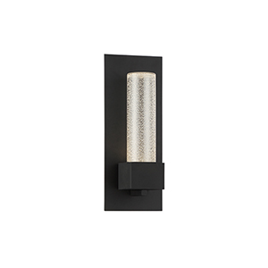 Solato Black 5-Inch LED Outdoor Wall Sconce