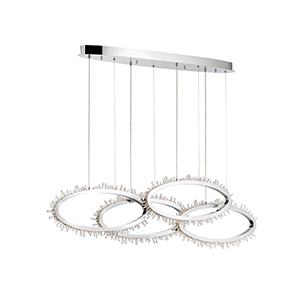 Scoppia Chrome 7-Inch LED Chandelier