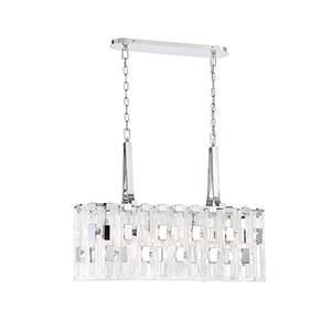 Viviana Chrome 11-Inch 7-Light Chandelier
