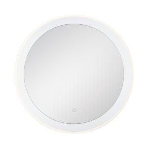 Edge-Lit Mirror Chrome 30-Inch LED Mirror