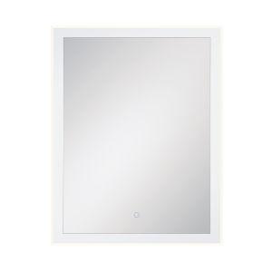 Edge-Lit Mirror Chrome 28-Inch LED Mirror