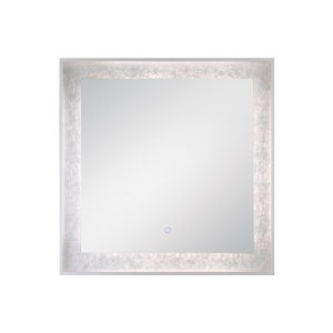 Edge-Lit Mirror Silver 32-Inch LED Mirror