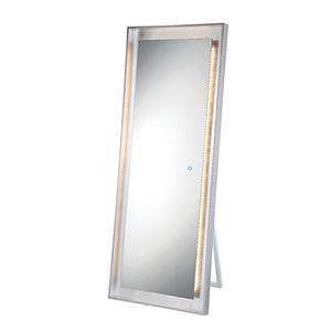 Edge-Lit Mirror Silver 26-Inch LED Mirror