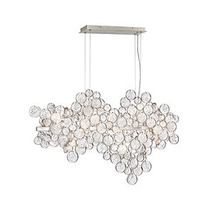 Trento Champagne 10.5-Inch 12-Light Chandelier