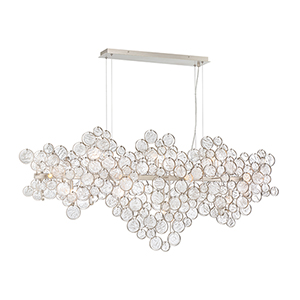 Trento Champagne 10.5-Inch 15-Light Chandelier