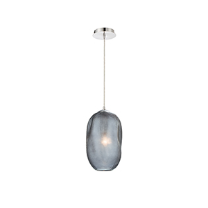 Labria Chrome 7.5-Inch 1-Light Mini Pendant