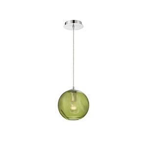 Della Chrome 8-Inch 1-Light Mini Pendant