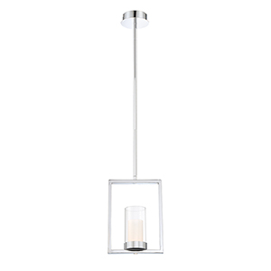 Londra Chrome 4-Inch LED Mini Pendant
