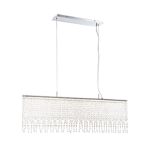 Atwater Chrome 5.5-Inch LED Chandelier