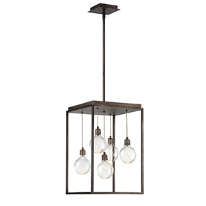 Zarina Bronze 12-Inch LED Chandelier