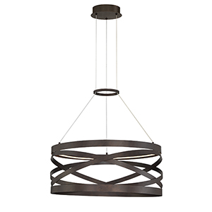 Avita Oil Rubbed Bronze 23.75-Inch LED Chandelier