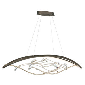 Basilica Oil Rubbed Bronze 14.5-Inch LED Chandelier