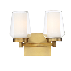 Manchester Brass 12.75-Inch 2-Light Wall Sconce