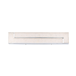 Santi Chrome 23.5-Inch LED Wall Sconce