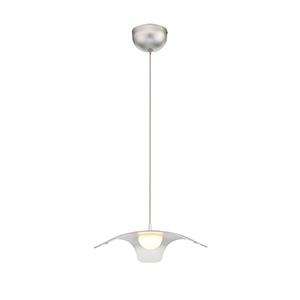Randora Silver 13.375-Inch LED Pendant