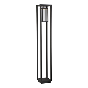 Outdoor Bollard Graphite Grey 7.75-Inch LED Bollard