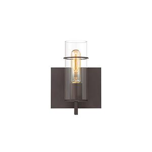Pista Bronze 6.25-Inch 1-Light Wall Sconce
