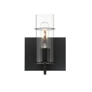 Pista Black Six-Inch One-Light ADA Bath Vanity
