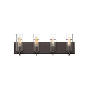 Pista Bronze 26-Inch 4-Light Bath Vanity