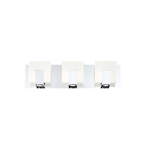 Canmore Chrome 20-Inch LED Bath Vanity