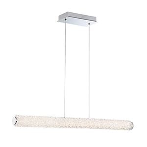 Sassi Chrome 2.5-Inch LED Linear Pendant