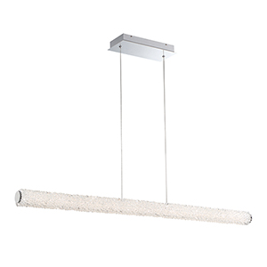 Sassi Chrome 2.75-Inch LED Linear Pendant