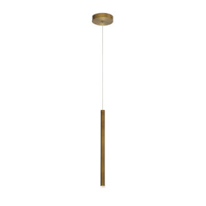 Navada Antique Brass Gold 1-Inch LED Mini Pendant