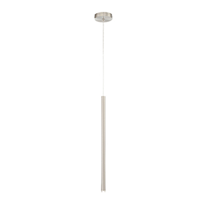 Navada Satin Nickel 1-Inch LED Mini Pendant