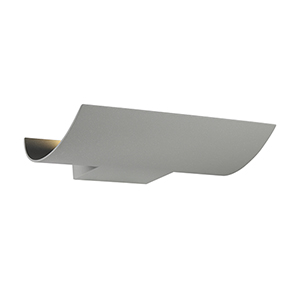 Outdoor Mount Marine Grey 11.75-Inch LED Wall Mount