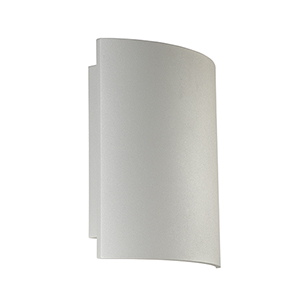 Outdoor Mount Marine Grey 10-Inch LED Wall Mount