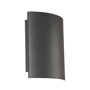Outdoor Mount Graphite Grey 10-Inch LED Wall Mount