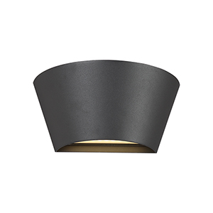 Outdoor Mount Graphite Grey 9.75-Inch LED Wall Mount