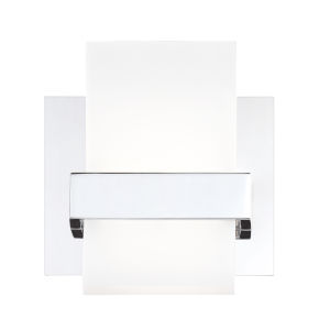 Cambridge Chrome One-Light LED Wall Sconce