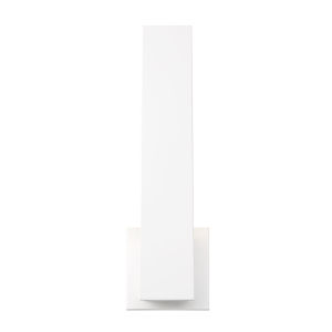 Annette White One-Light LED Wall Sconce
