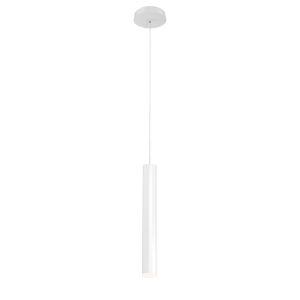 Baldwin White One-Light LED Mini Pendant