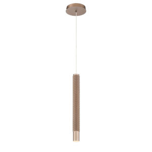 Davenport Champagne One-Light 2-Inch LED Mini Pendant with 3000 Kelvin 255 Lumens