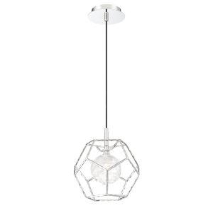 Norway Chrome One-Light LED Pendant