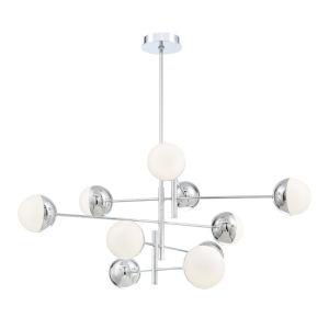 Fairmount Chrome 10-Light LED Chandelier