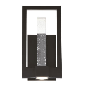 Hanson Black Two-Light LED Outdoor Wall Sconce