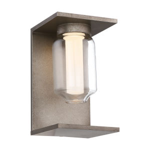 Graydon Metal One-Light 6-Inch LED Outdoor Wall Sconce with 3000 Kelvin 135 Lumens
