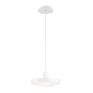 Sandstone White One-Light LED Mini Pendant