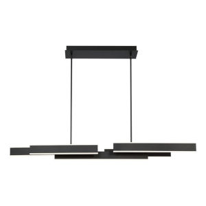 Cameno Matte Black LED Pendant